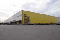 Фото склада кирпича кирпичного завода Долстон