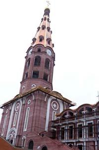 Фото колокольни из кирпича