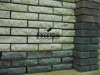 Кирпич облицовочный PEWTER ROCK (серый)