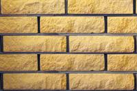 Облицовочный кирпич SUNNY ROCK (желтый)