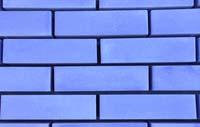 Облицовочный кирпич (синий)