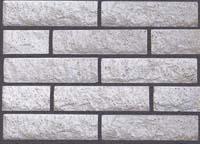 Кирпич под камень облицовочный (белый)