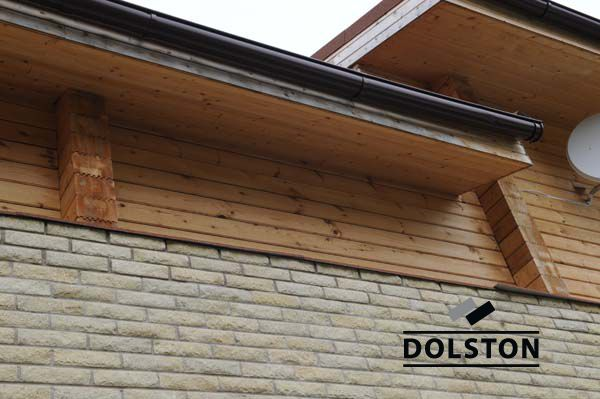 Фото дома из рваного кирпича скала кирпич облицовочный ЖЕЛТО-ЗЕЛЕНЫЙ