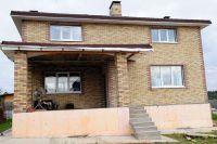 Фото дома из кирпича баварская кладка, баварская кладка кирпича облицовочного МОЗАИКА