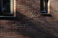Фото вставок из гладкого кирпича, гладкий кирпич облицовочный МОЛОЧНЫЙ ШОКОЛАД
