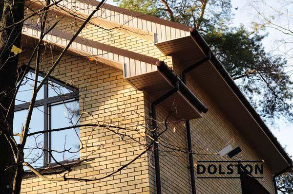 Фото дома из облицовочного кирпича гладкий кирпич облицовочный ЖЕЛТО-ЗЕЛЕНЫЙ