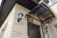 Фото отделки окна рваным кирпичом, скала кирпич облицовочный ЖЕЛТО-СЕРЫЙ