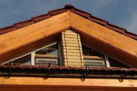 Фото отделки окна рваным кирпичом, скала облицовочный кирпич ЯРКО-ЖЕЛТЫЙ