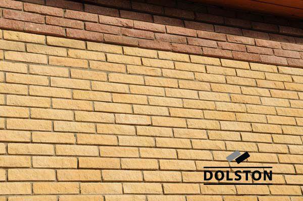 Фото вставок рваного кирпича в кирпичную стену скала кирпич облицовочный ГРАНАТ