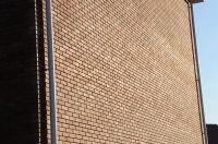 Пример кладки кирпича, гладкий кирпич облицовочный МОЛОЧНЫЙ ШОКОЛАД