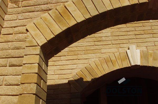 Фото арки из рваного кирпича скала кирпич облицовочный ЖЕЛТО-ЗЕЛЕНЫЙ