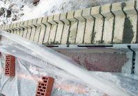 Пример конструкции стены из облицовочного кирпича