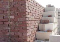 Пример конструкции стены из облицовочного кирпича, гладкий кирпич облицовочный ВИШНЕВЫЙ