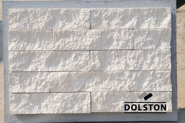 Фасадная белая плитки