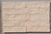 Пример кладки плитки под кирпич, плитка фасадная БЕЖЕВАЯ