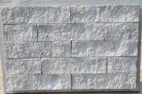 Пример кладки плитки под кирпич, плитка фасадная под кирпич СЕРАЯ