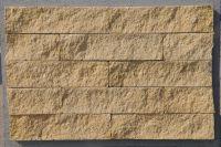 Пример кладки плитки под кирпич, плитка под кирпич ЖЕЛТО-ЗЕЛЕНАЯ