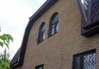 Фото отделки окна рваным кирпичом, скала облицовочный кирпич МОЛОЧНЫЙ ШОКОЛАД