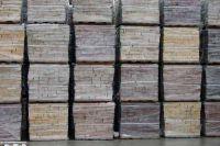Камень из кирпича на складе, скала камень фасадный ЖЕЛТЫЙ