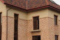 Фото дома из кирпича баварская кладка, баварская кладка кирпича ПЕРСИК и МОЛОЧНЫЙ