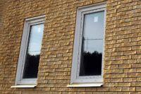 Фото отделки окна плиткой под кирпич, плитка под кирпич ЖЕЛТАЯ