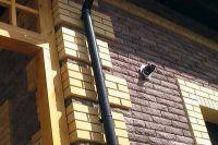 Фото дома из рваного кирпича, скала облицовочный кирпич ГОРЬКИЙ ШОКОЛАД