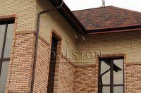 Фото вставок рваного кирпича в кирпичную стену, скала облицовочный кирпич МОЛОЧНЫЙ ШОКОЛАД