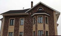 Фото дома из кирпича баварская кладка, баварская кладка кирпича МОЛОЧНЫЙ ШОКОЛАД