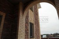 Фото арки из облицовочного кирпича, гладкий облицовочный кирпич БЕЖЕВЫЙ
