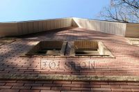 Фото вставок рваного кирпича в кирпичную стену, скала кирпич облицовочный БЕЖЕВЫЙ
