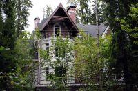 Фото дома из рваного кирпича, скала кирпич облицовочный БЕЛЫЙ
