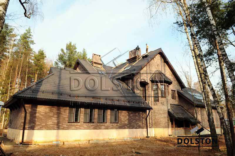 Фото дома из кирпича баварская кладка баварская кладка кирпича ГОРЬКИЙ ШОКОЛАД