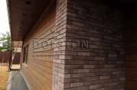 Фото вставок (баварская кладка кирпича) стену, баварская кладка кирпича ГОРЬКИЙ ШОКОЛАД