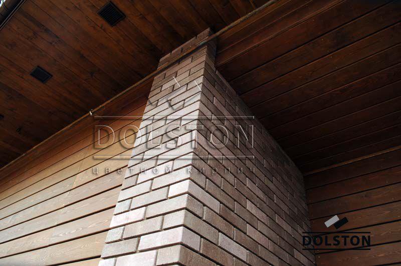 Облицовка фасада каменного дома