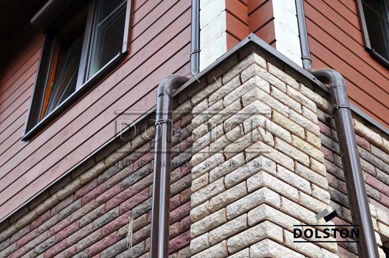Дом из лицевого кирпича Долстон