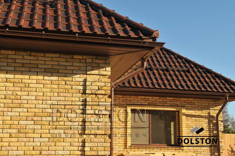 Фото дома из кирпича баварская кладка баварская кладка кирпича ЖЕЛТЫЙ