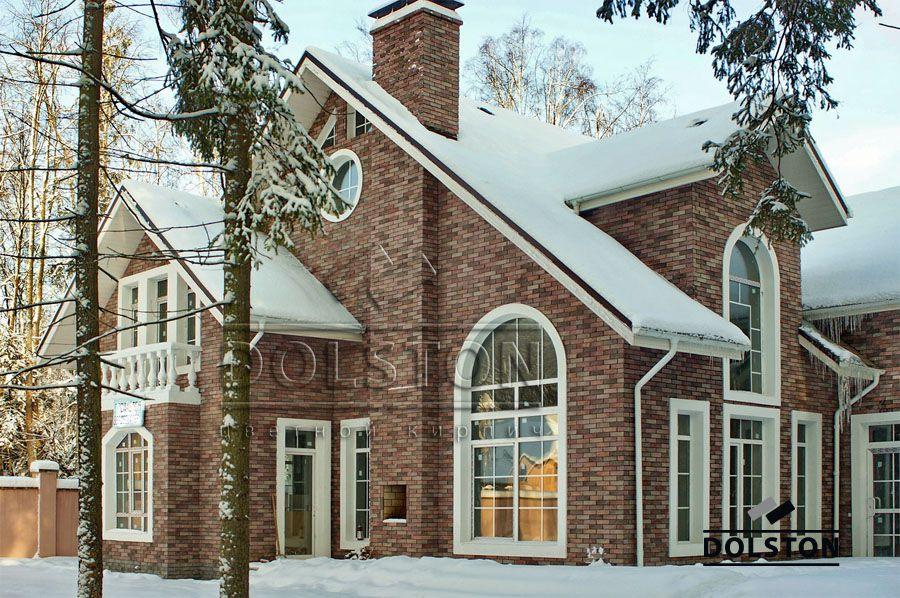 Дом из фасадной плитки Долстон