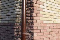 Отделка углов плиткой под кирпич, плитка фасадная PORTO FACADE (красный)