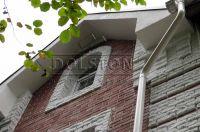 Фото дома из облицовочного кирпича, облицовочный кирпич BUNT (красный)