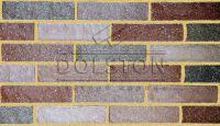Пример кирпичной кладки, кирпич облицовочный BRAVO ROCK (красный)