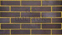 Пример кладки кирпича, кирпич облицовочный РYRANO (коричневый)