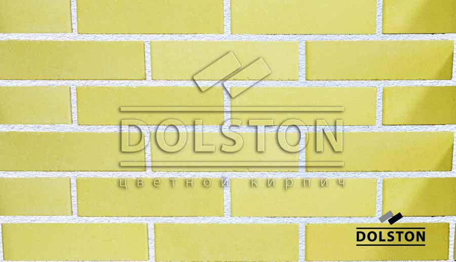 Пример кладки кирпича облицовочный кирпич SUNNY (желтый)