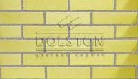 Пример кладки кирпича, облицовочный кирпич SUNNY (желтый)