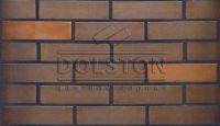 Пример кладки кирпича, кирпич облицовочный TILSTON BLEND (коричневый)