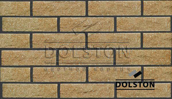 Образец кирпича кирпич облицовочный TAN ROCK (коричневый)