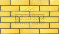 Пример кладки кирпича, облицовочный кирпич SAHARA (желтый)