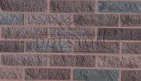 Пример кладки плитки под кирпич, плитка фасадная PYRANO BLEND FACADE (коричневый)