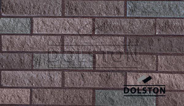 Образец плитки под кирпич плитка фасадная PYRANO BLEND FACADE (коричневый)