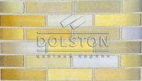 Пример кладки кирпича, кирпич облицовочный PEARY (желтый)