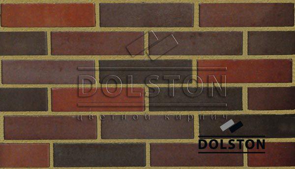 Пример кладки кирпича кирпич облицовочный COLONY (красный)
